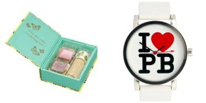 Paul & Joe fairytale eye make-up set and Paul's Boutique watch