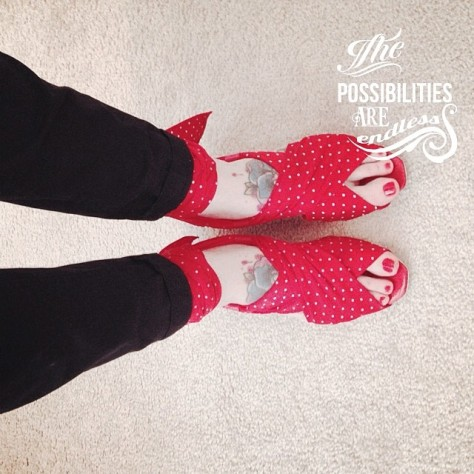 Irregular Choice endless possibilities