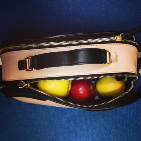 New Look vanity square bowler bag