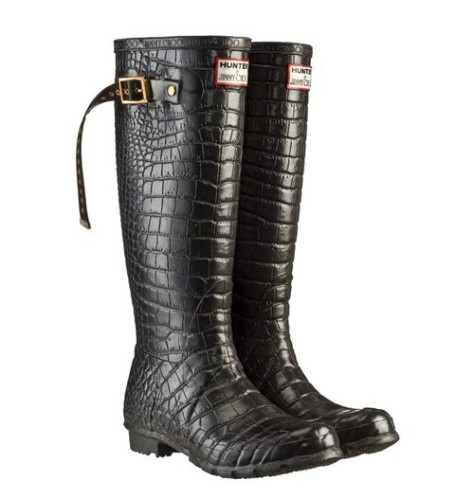 Jimmy Choo for Hunter boots