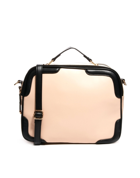 New Look Square Bowler bag