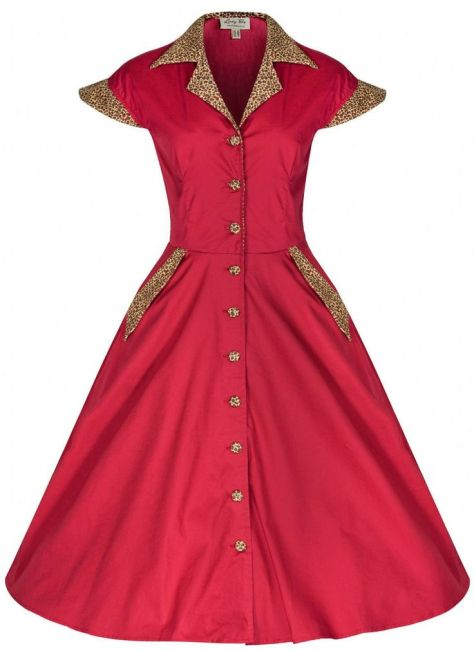 Jeanette Rockabilly dress