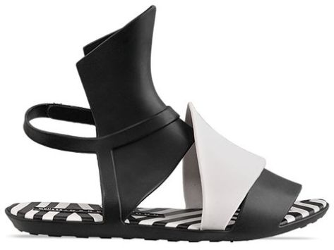 Gareth-Pugh-X-Melissa-shoes-Aileron-Black-White