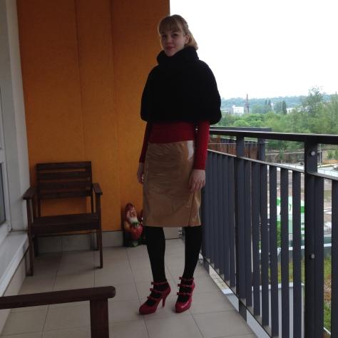 melissa three strap heels
