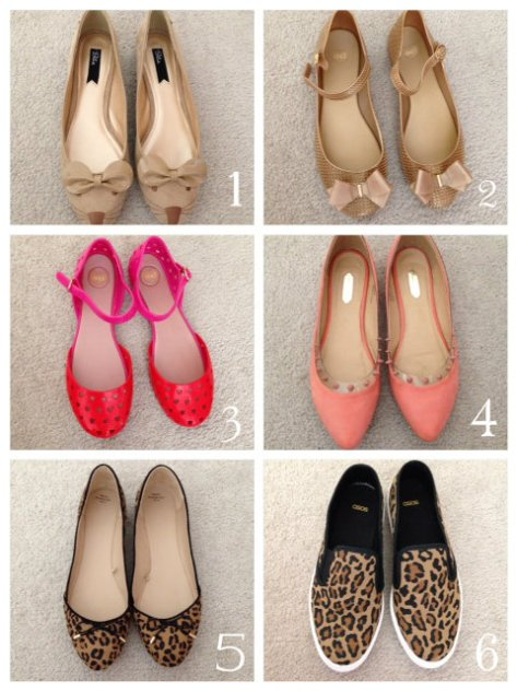 shoe options for an exam