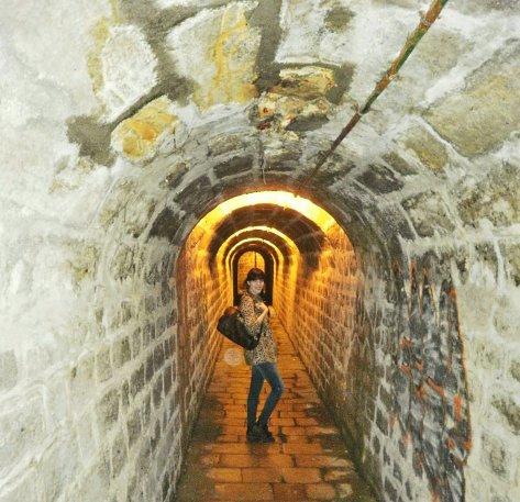 tunnel ootd
