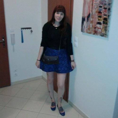 bershka snake skin zara skirt