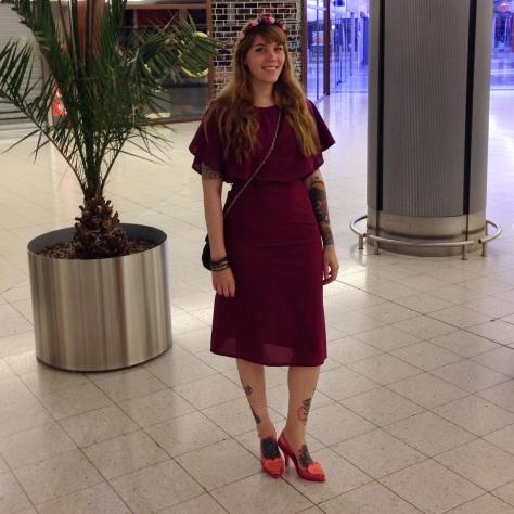 vintage dress vivienne westwood heels melissa