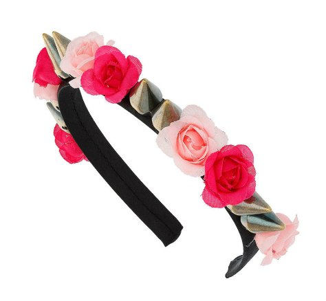 topshop floral studded head band