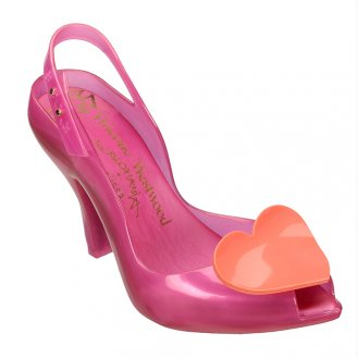 vivienne westwood lady dragon heart pink