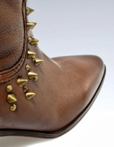 Zara studded closeup