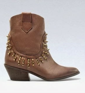 zara studded-cowboy-ankle-boots