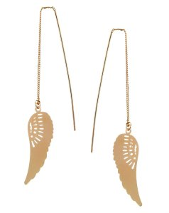 asos wing earrings