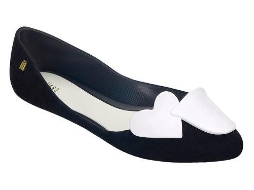Melissa Trippy Heart Point Flat Shoes