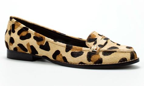 zara leopard print moccasins