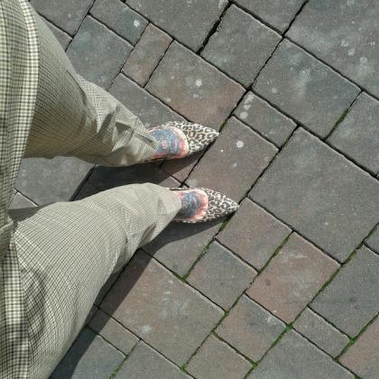 zara leoprint court heels