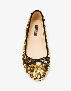 zara shiny shoes
