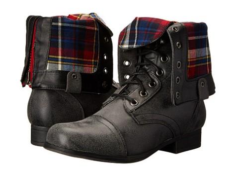 madden girl boots folded over