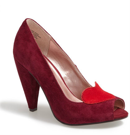 seychelles ready for anything heart detail pumps