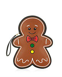 gingerbread man clutch