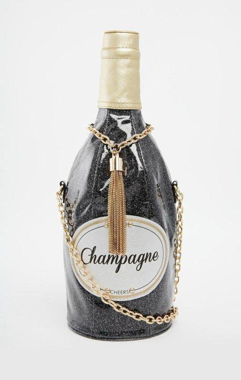 aldo champagne bag