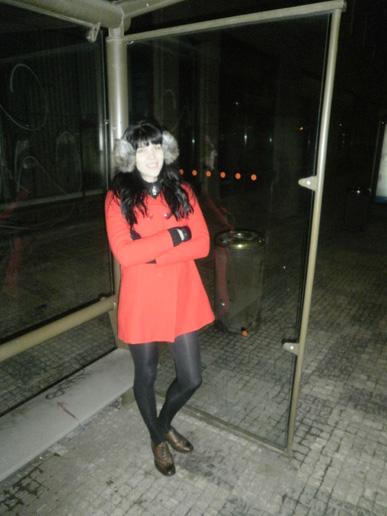 Camaieu red coat 2011