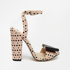 asos harmony heeled shoes