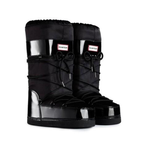 hunter moon boots chatel black