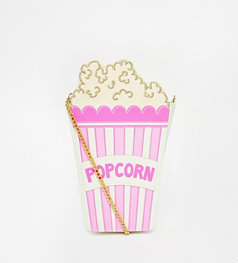 Skinnydip Popcorn Bag with Chain Strap
