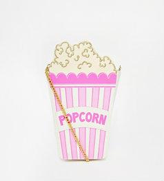 Skinnydip Popcorn Bag with Chain Strap