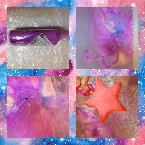northern lights lush bath bomb