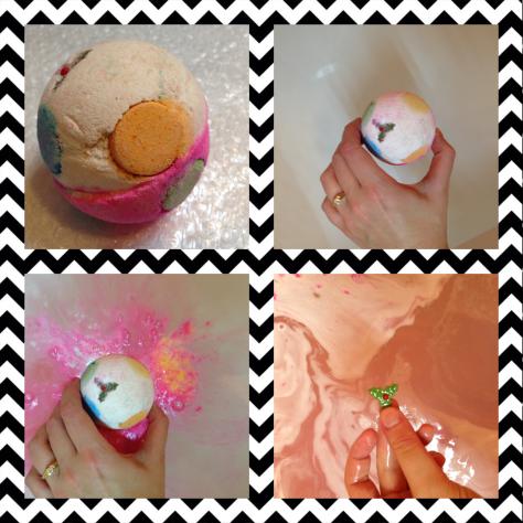 luxury lush pud lush bath bomb