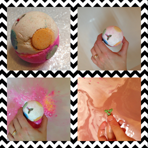 luxury lush pud lush bath bomb