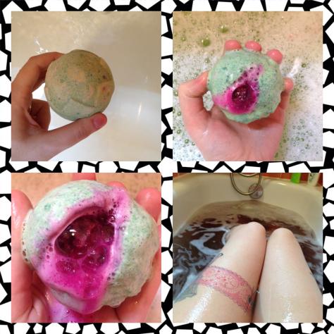 lord of misrule lush bath bomb
