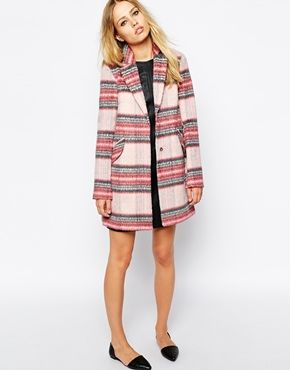 warhouse check coat