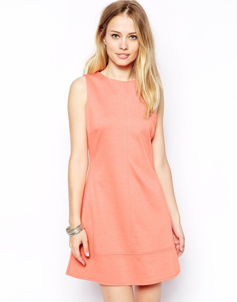 asos a-line shift dress