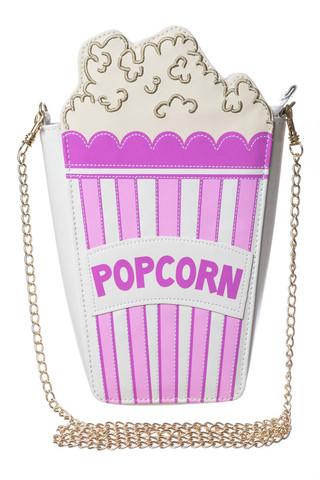skinny dip popcorn clutch