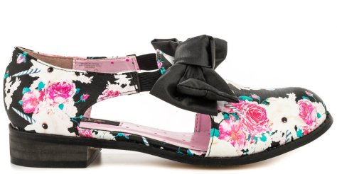 Iron Fist Buns-N-Roses Oxford shoes
