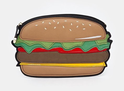 new look burger clutch
