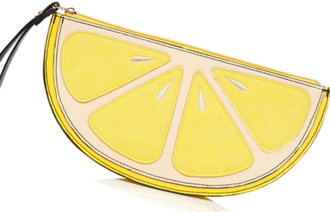 New-look-lemon-clutch-bag