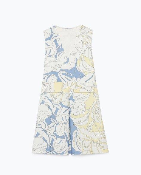 zara fitted mini dress