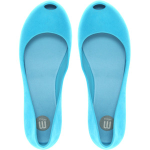 melissa light blue ultragirl flats