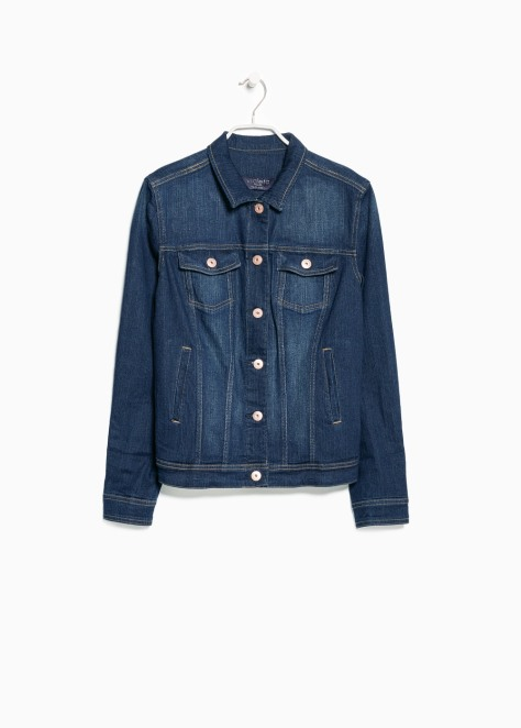 mango denim jacket