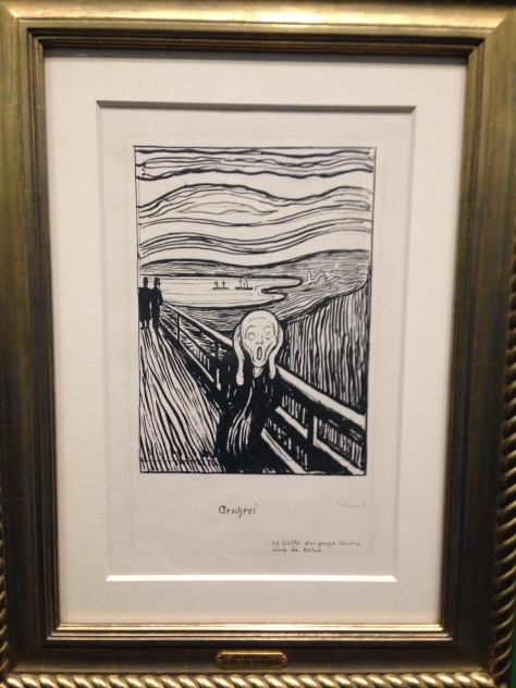 edvard munch scream vienna