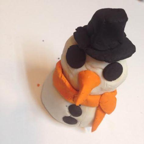 lush snowman fun snehulak