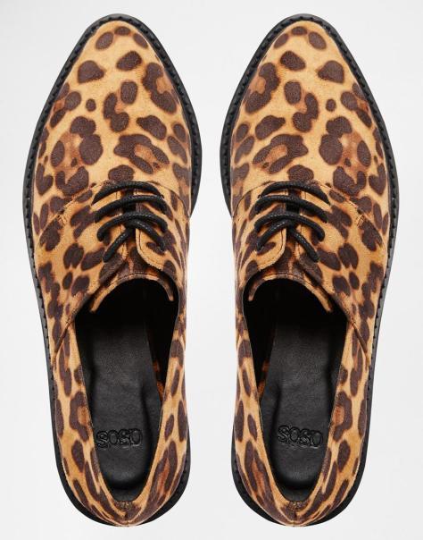 Asos memorise leopard creepers