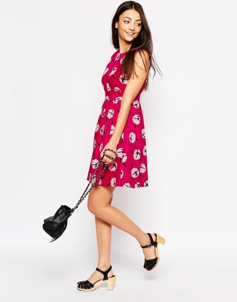 emily & fin lucy dress in balllerina print