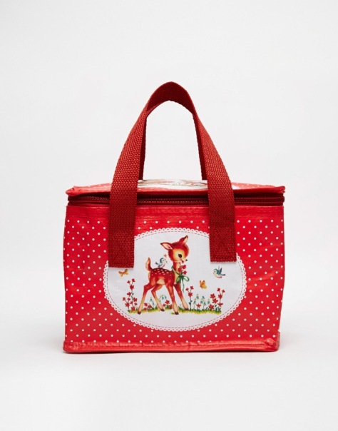 heidi polka dot lunch bag