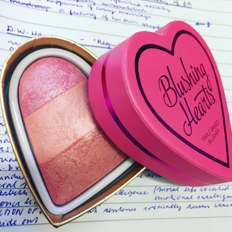 make up revolution blushing hearts blusher