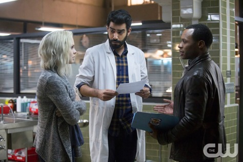 Rose-McIver-as-Olivia-Liv-Moore-Rahul-Kohli-as-Dr.-Ravi-Chakrabarti-and-Malcolm-Goodwin-as-Clive-Babineaux